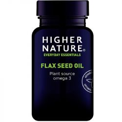Higher Nature Flaxseed Oil Capsules 180