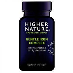 Higher Nature Gentle Iron Complex Vegicaps 60