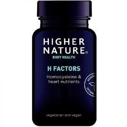 Higher Nature H Factors Vegetable Capsules 60