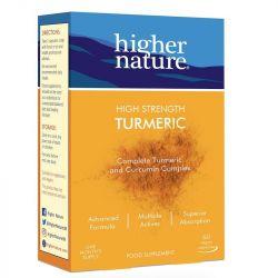 Higher Nature Turmeric Vegan Capsules 60
