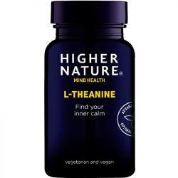 Higher Nature L-Theanine Vegan Capsules 30