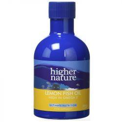 Higher Nature Lemon Fish Oil 200ml