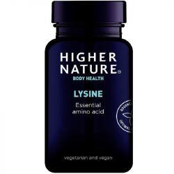Higher Nature Lysine 500mg Vegetable Tablets 90
