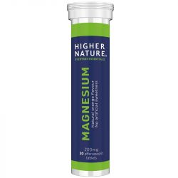 Higher Nature Magnesium Effervescent Tabs 20
