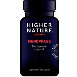 Higher Nature Menophase Vegetable Capsules 90