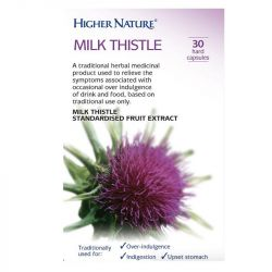 Higher Nature Milk Thistle Capsules 30
