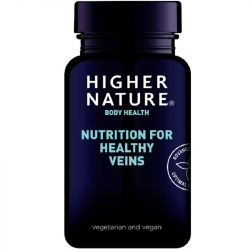 Higher Nature Nutrition for Healthy Veins Vegetable Capsules 90