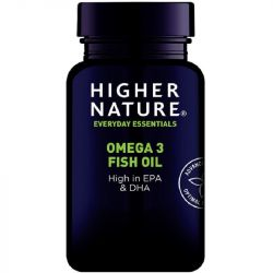 Higher Nature Omega-3 Fish Oil Capsules 180