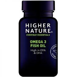 Higher Nature Omega-3 Fish Oil Capsules 90