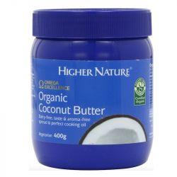 Higher Nature Organic Coconut Butter 400g