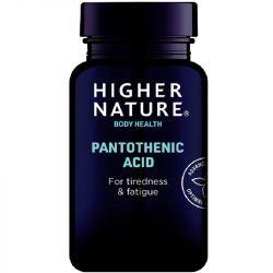 Higher Nature Pantothenic Acid 500mg Capsules 60