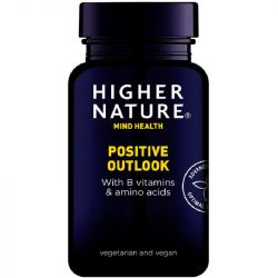 Higher Nature Positive Outlook Vegetable Capsules 30