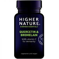 Higher Nature Quercetin & Bromelain Vegetable Tablets 60