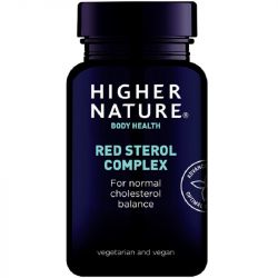 Higher Nature Red Sterol Complex Vegetable Capsules 90