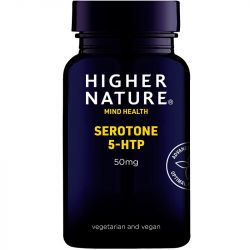 Higher Nature Serotone 5-HTP 50mg Vegetable Capsules 90