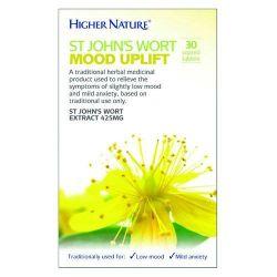 Higher Nature St. John's Wort Mood Uplift Tablets 30