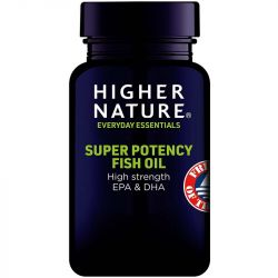 Higher Nature Super Potency Fish Oil Capsules 90