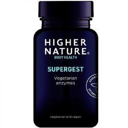 Higher Nature SuperGest Vegetable Capsules 30
