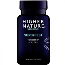 Higher Nature SuperGest Vegetable Capsules 90