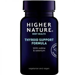 Higher Nature Thyroid Support Formula Vegetable Capsules 60