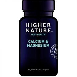 Higher Nature True Food Calcium & Magnesium Vegitabs 60
