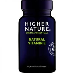 Higher Nature True Food Vitamin E Vegetable Capsules 180