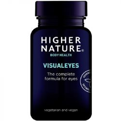 Higher Nature Visual Eyes Vegetable Capsules 90