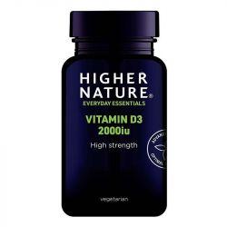Higher Nature Vitamin D3 2000iu Vegicaps 120