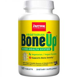 Jarrow Formulas BoneUp Vegetarian with Calcium Citrate Tabs 120