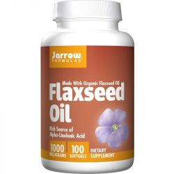Jarrow Formulas Flaxseed Oil Softgels 100