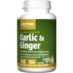 Jarrow Formulas Garlic & Ginger 700mg Vegicaps 100
