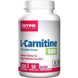 Jarrow Formulas L-Carnitine 500mg Caps 50