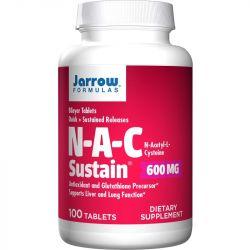 Jarrow Formulas NAC Sustain 600mg Tabs 100