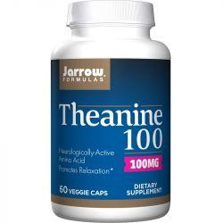 Jarrow Formulas Theanine 100mg Vegicaps 60