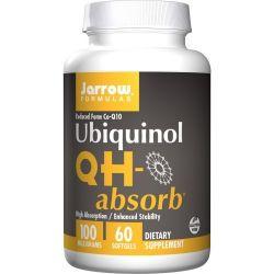 Jarrow Formulas Ubiquinol QHabsorb 100mg Softgels 60
