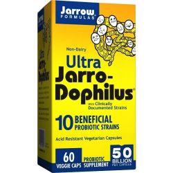 Jarrow Formulas Ultra JarroDophilus 50 Billion Vegicaps 60