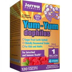 Jarrow Formulas YumYum Dophilus 1 Billion Chew Tabs 120
