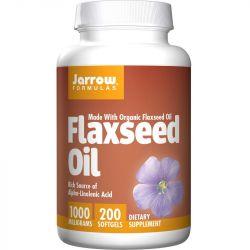 Jarrow Formulas Flaxseed Oil Softgels 200