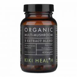 Kiki Health Organic 8 Mushroom Extract Vegicaps 60