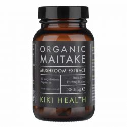 Kiki Health Organic Maitake Mushroom Extract Vegicaps 60