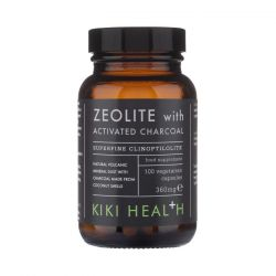 Kiki Health Zeolite with Activated Charcoal Vegicaps 100