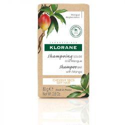 Klorane Nourishing Shampoo Bar with Mango 80g