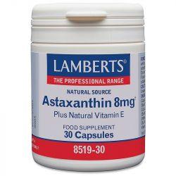 Lamberts Astaxanthin 8mg Caps 30