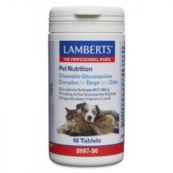 Lamberts Chewable Glucosamine Complex for Dogs & Cats Tabs 90