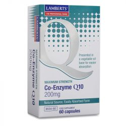 Lamberts Co-Enzyme Q10 200mg Capsules 60