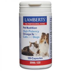 Lamberts High Potency Omega 3 for Cats and Dogs Caps 120