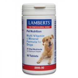 Lamberts Multi Vitamin and Mineral for Dogs Tablets 90