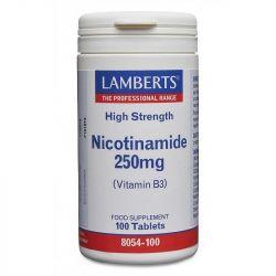 Lamberts Nicotinamide 250mg Tablets 100