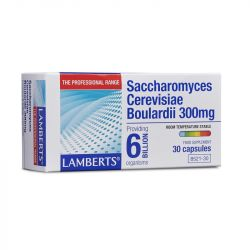 Lamberts Saccharomyces Cerevisiae Boulardii 300mg Capsules 30