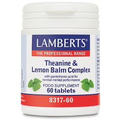 Lamberts Theanine & Lemon Balm Complex Tablets 60
